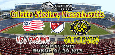 JUDI BOLA DAN CASINO ONLINE - PREDIKSI PERTANDINGAN MAJOR LEAGUE SOCCER NEW ENGLAND VS COLUMBUS CREW 22 MEI 2017