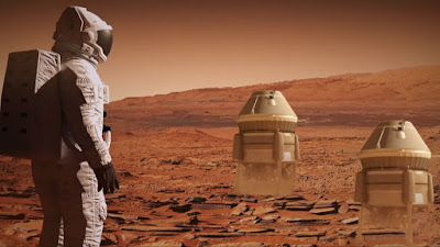 The Challenges of Landing Humans on Mars