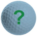 golf ball question mark