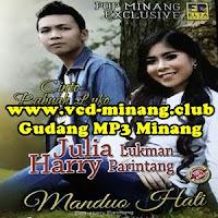 Lirik dan Terjemahan Lagu Harry Parintang - Manduo Hati