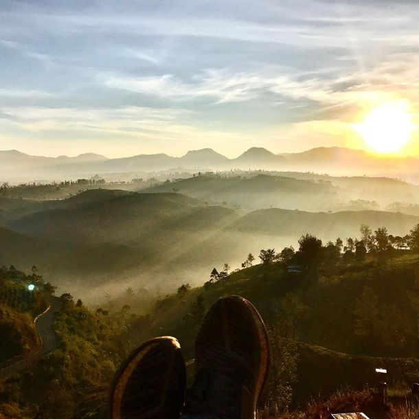 gambar cukul sunrise point pangalengan