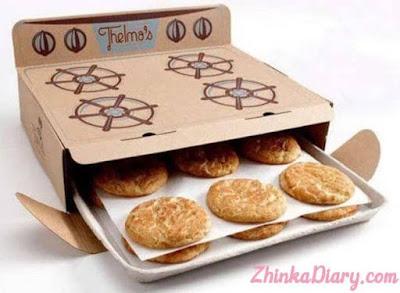 Contoh Packaging: Kemasan berbentuk oven