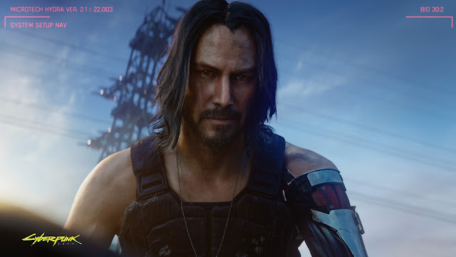 Cyberpunk 2077 Keanu Reeves 2019 Wallpapers