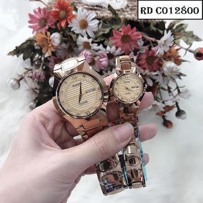 Hãy bắt đầu một tình yêu hoàn hảo với đồng hồ cặp đôi dây đá ceramic