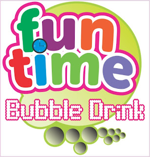 LOGO FUNTIME BUBBLE DRINK