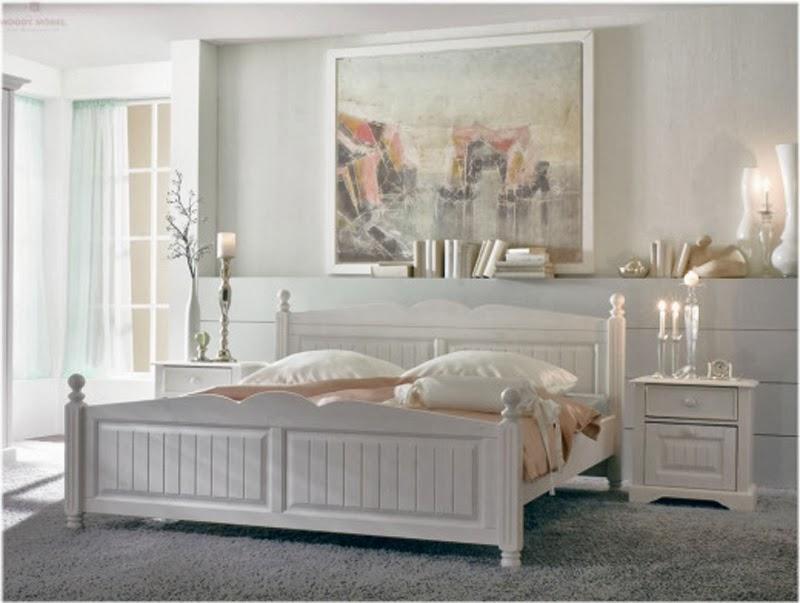 Dormitorios color blanco dormitorios colores y estilos - Habitaciones en blanco ...