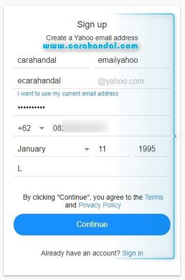 Cara Buat Email Yahoo di Komputer