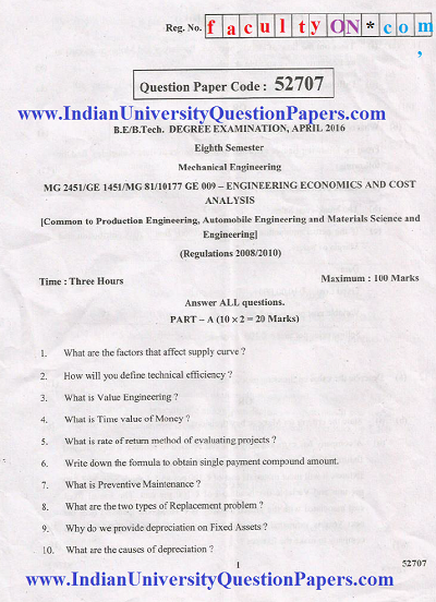 question paper mg 2452 engineering Cse studies 231 likes mg 2452 engineering economics and financial accounting download 6th semester it2353 nov/dec 2011 question paper- http://csestudies.