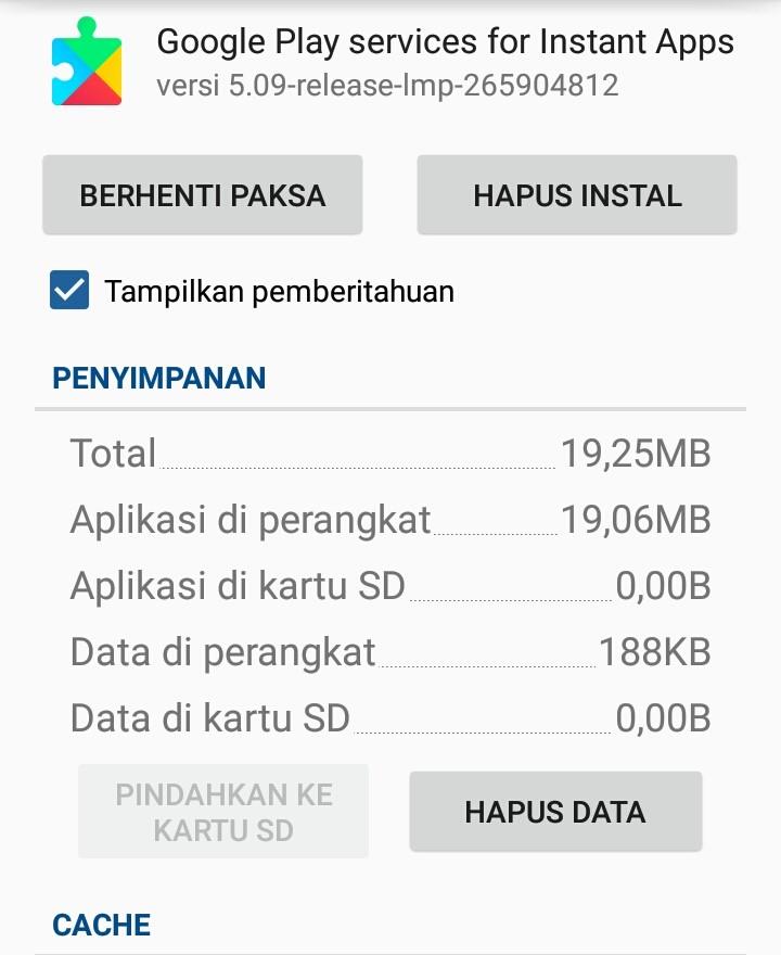 Cara Update Google Play Services Secara Manual