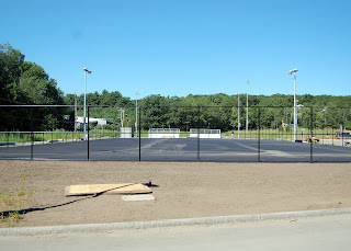 tennis courts, another view