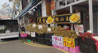 El Durian es famoso en toda Asia.