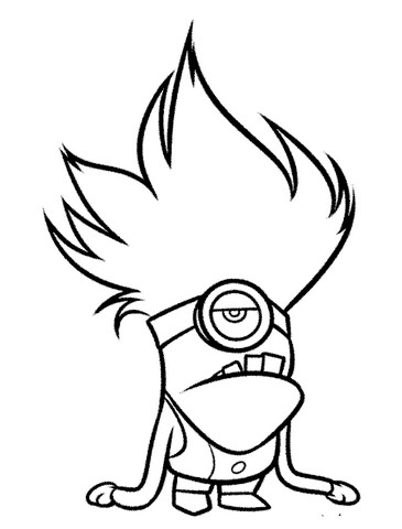 Animasi Gambar Kartun Keren Hitam Putih Simple Ideku Unik