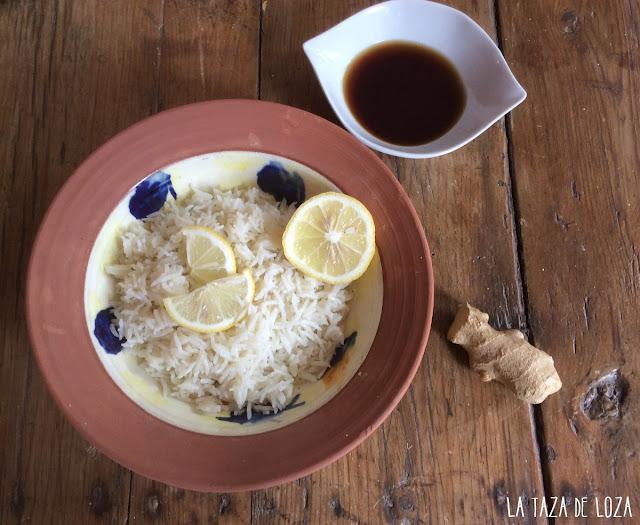 arroz-basmati-con-limón-y-jengibre