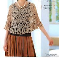 Crochet Pineapple Poncho