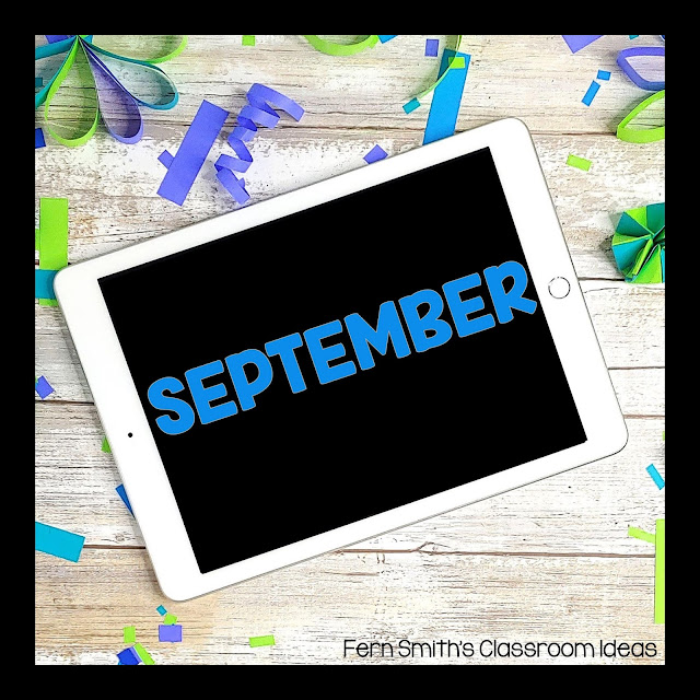 September FREE Teacher Downloads For Your Classroom! September FREEBIES and Back to School FREEBIES are collected here for easy classroom references. Let me make your September and Back to School time easier with these worksheets, color by number pages, coloring pages, classroom games, lesson plans, center games, task cards, activities, color by code pages, and so much more! The day to day teaching you do is HARD, let me help. Pin this page to remember to come back each September for more Free downloads! #FernSmithsClassroomIdeas