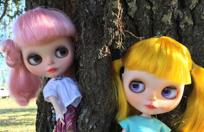 Meet Our First Blythe Dolls - Clarke and Ryan
