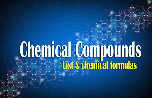 Chemical compounds list