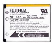 Baterai Fujifilm NP-45