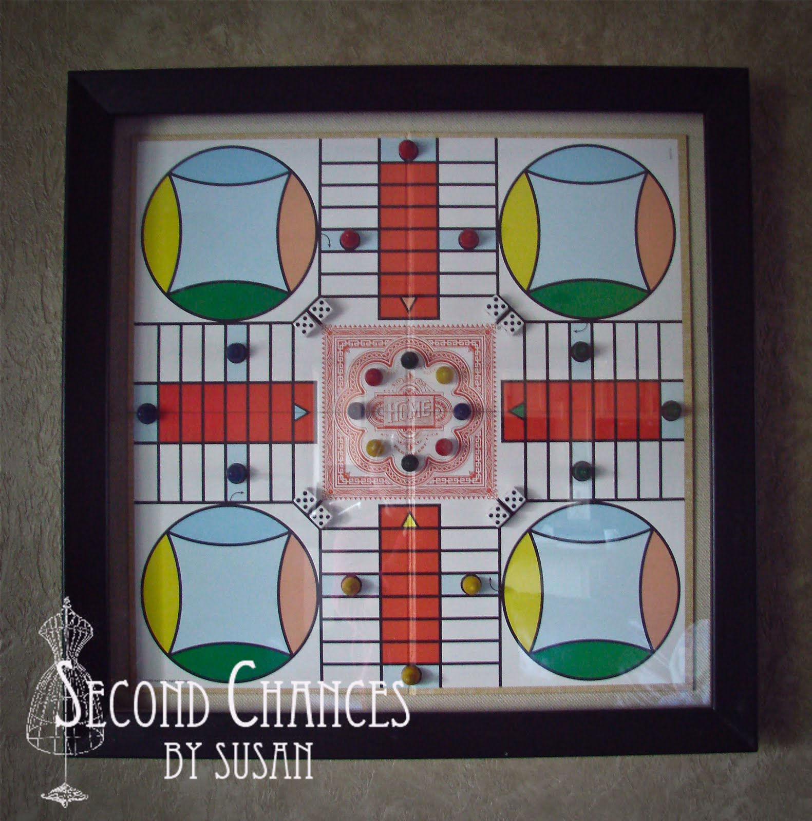 Second Chances by Susan: Vintage Board Game Shadow Boxes