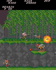 Descarga Rom contra.zip Konami Arcade MAME