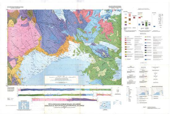 Peta Geologi Regional Lembar Malili Sulawesi Selatan