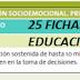 """EDUCACIÓN SOCIOEMOCIONAL """"25 FICHAS"""" 6° PRIMARIA"""