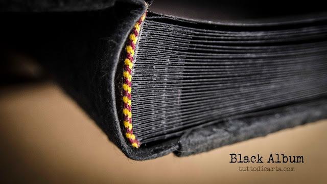 photo album black pages
