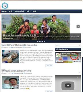 Giao diện Web làm Tin tức miễn phí - Theme Blogspot free - Blogspotdep.com