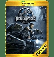 JURASSIC WORLD (2015) BDREMUX 2160P HDR MKV ESPAÑOL LATINO