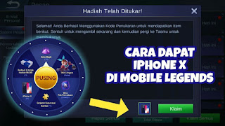 My Event Mobile Legends Terbaru 2019