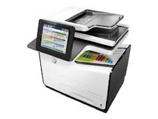 Picture HP PageWide Managed Color Flow MFP E58650z Printer
