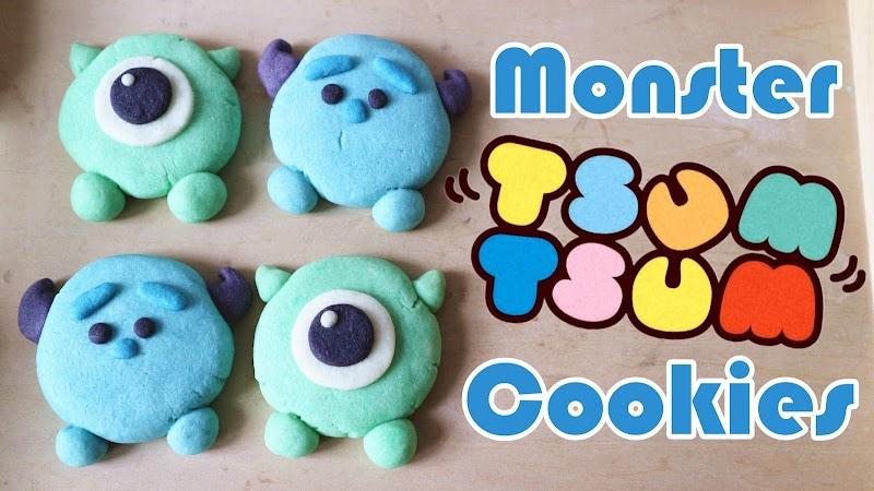 Monster Tsum Tsum Cookies曲奇