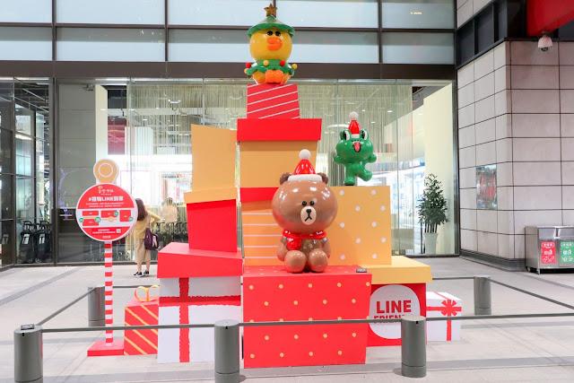 2018台北耶誕城 新光三越 LINEFRIENDS