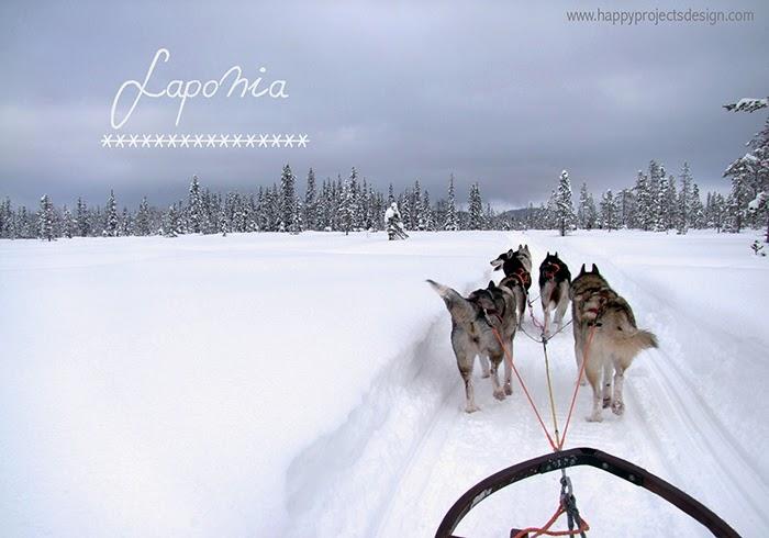 Laponia: mushing