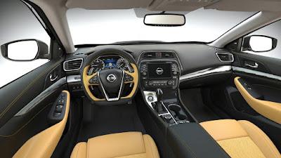 Interior Nissan Maxima