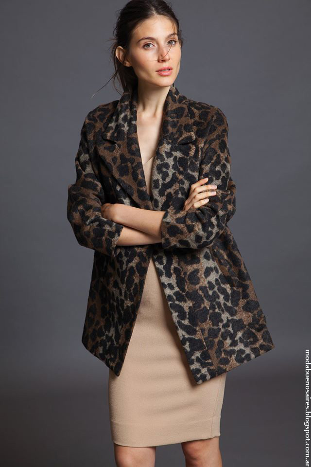 Moda invierno 2016 ropa de moda 2016 saco de mujer Awada.