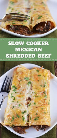 SLOW COOKER MEXICAN SHREDDED BEEF RECIPES