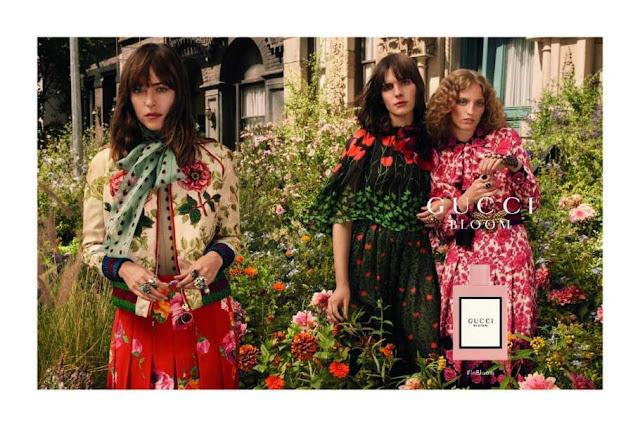 Reklama perfum Gucci Bloom