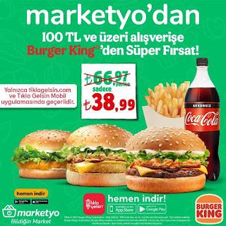marketyo kampanyası burger king 2021
