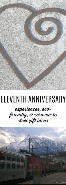 Unique and Eco-Friendly Steel Gifts for your Eleventh Anniversary