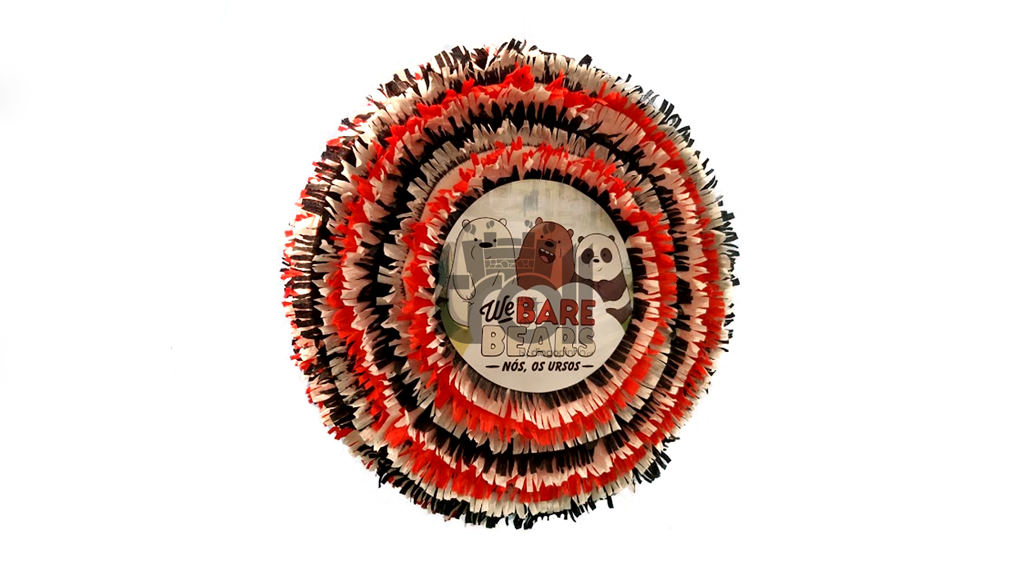 Pinhata tambor Nós os Ursos | Troll - Soluções para eventos