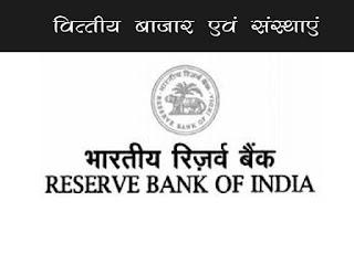 भारतीय रिजर्व बैंक की स्थापना