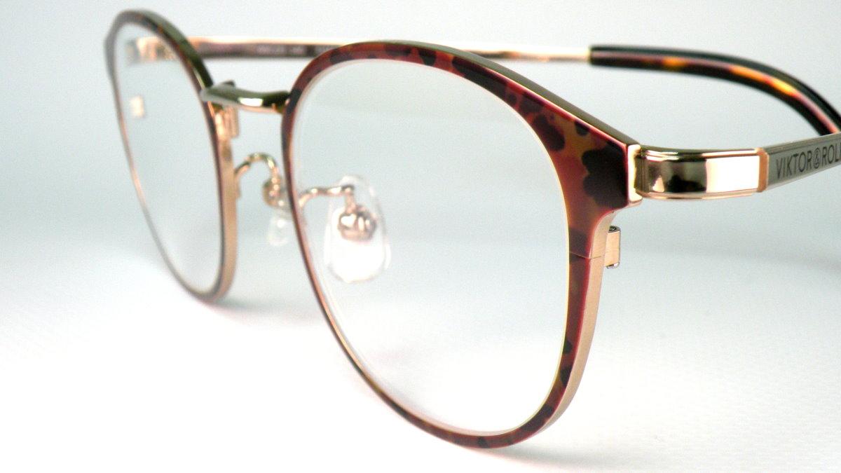 精明眼鏡公司: Viktor & Rolf 日本燒青上色文青風鈦金屬眼鏡 70-0144