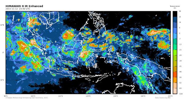 Tiga Hari Kedepan, Aceh Masih Berpotensi Hujan Lebat