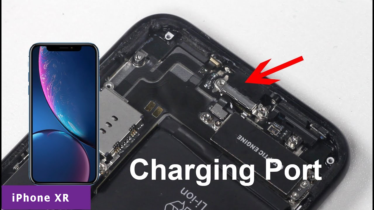 replace iPhone XR charging port
