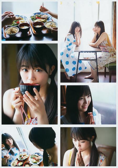 Keyakizaka46 Uemura Rina Gravure Ishimori Nijika YG 15 6