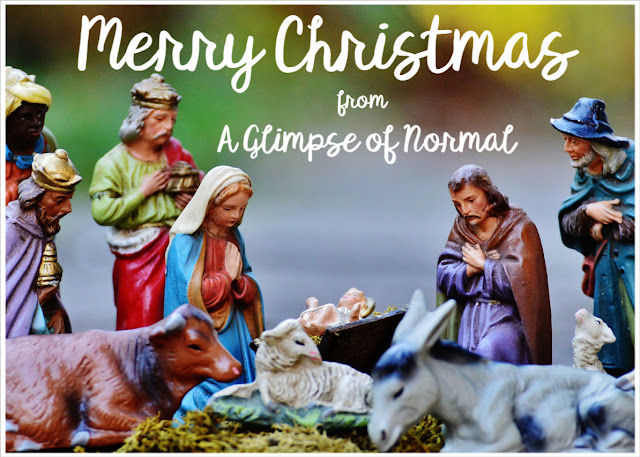 Merry Christmas from A Glimpse of Normal!!!!