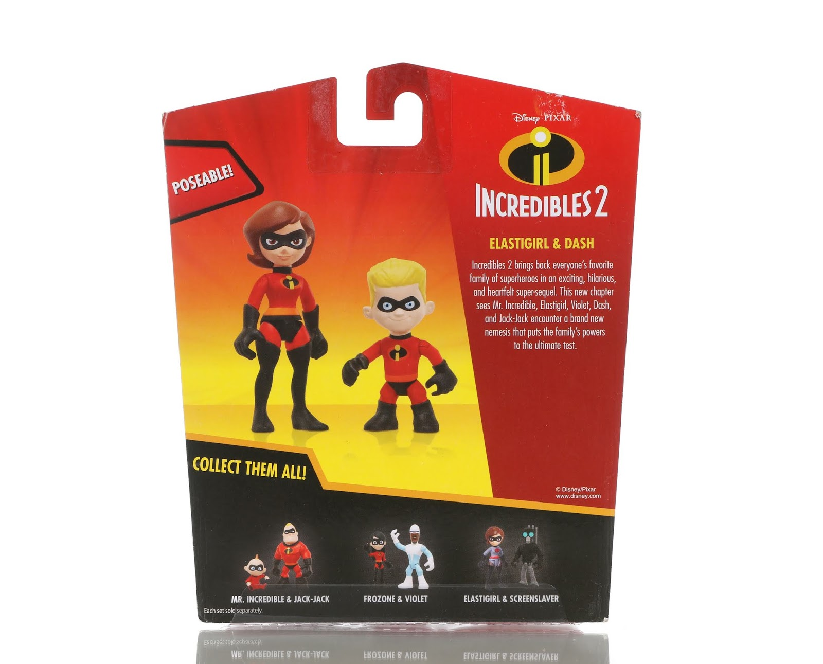"Incredibles 2  ""Junior Supers"" Figure Collection"