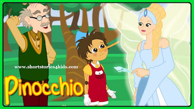 Pinocchio - Bedtime Short Story for Kids