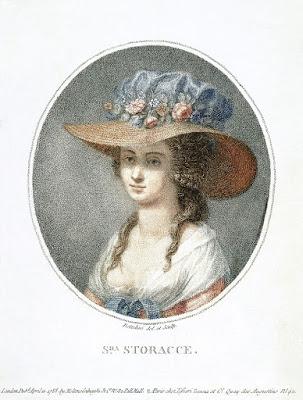 Nancy Storace by Pietro Bettelini (1788)